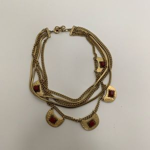Lucky Brand Gold Chain Layered Necklace